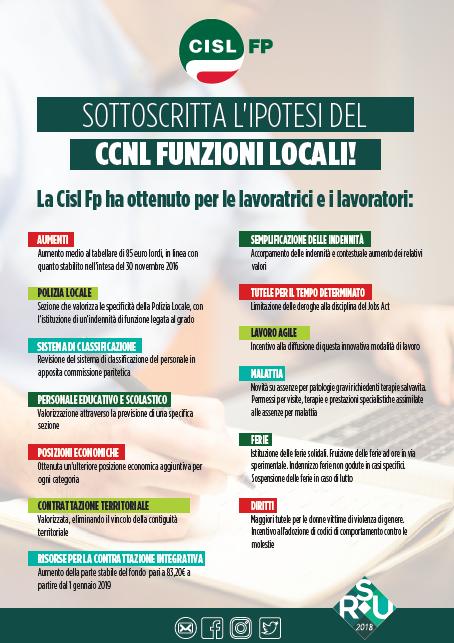 CCNL Funzioni Locali