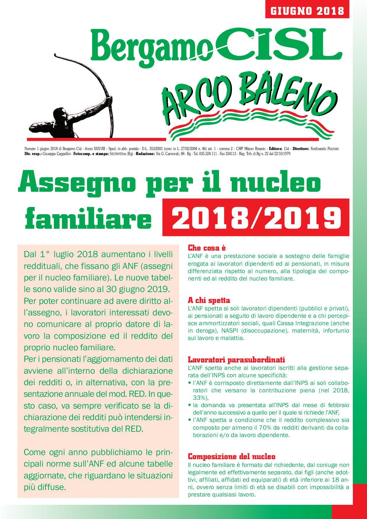 CISL Arcobaleno 2018 Giugno « FP CISL LOMBARDIA