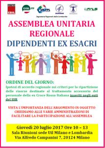 assemblea unitaria regionale ex esacri