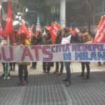 Corteo ATS Milano 2