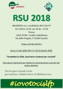Incontro candidati RSU FP SO