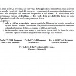 CS Unit OO.SS. Condanna Prov BG 2