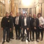 Presidio a Montecitorio Campione D' Italia 5