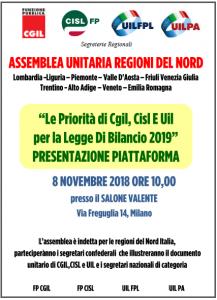 assemblea unitaria regioni nord 081118