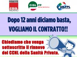 Presidio CISL FP Milano San Privata