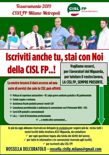 asst niguarda CISL FP