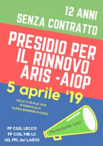 Presidio SAN Privata Lecco Clinica Mangioni 5 aprile