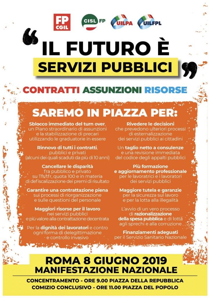roma 8 giugno 2019 il futuro è servizi pubblici