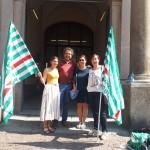 Sciopero Giustizia Pavia