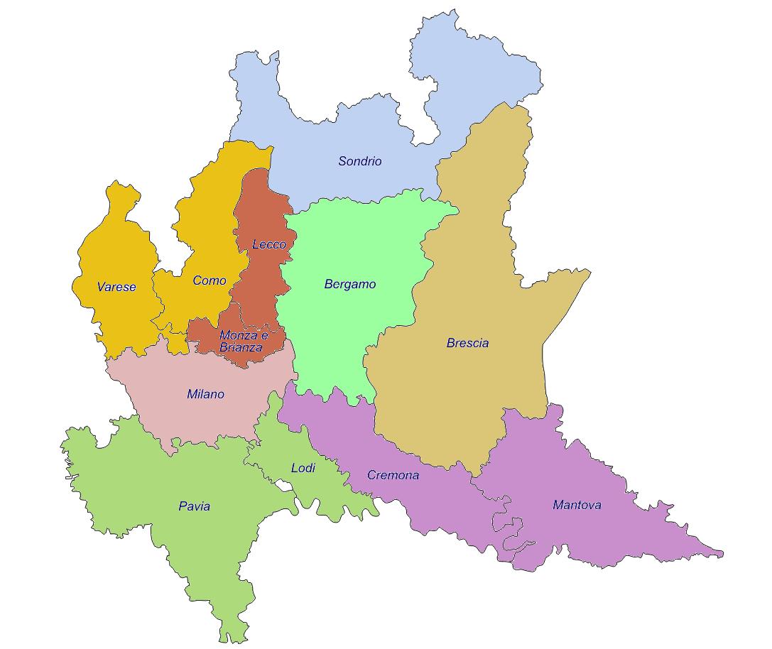 Mappa cliccabile