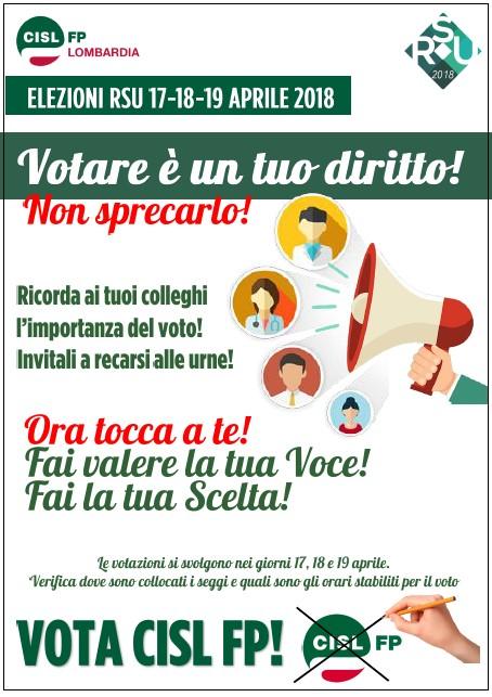 Vota cisl fp!