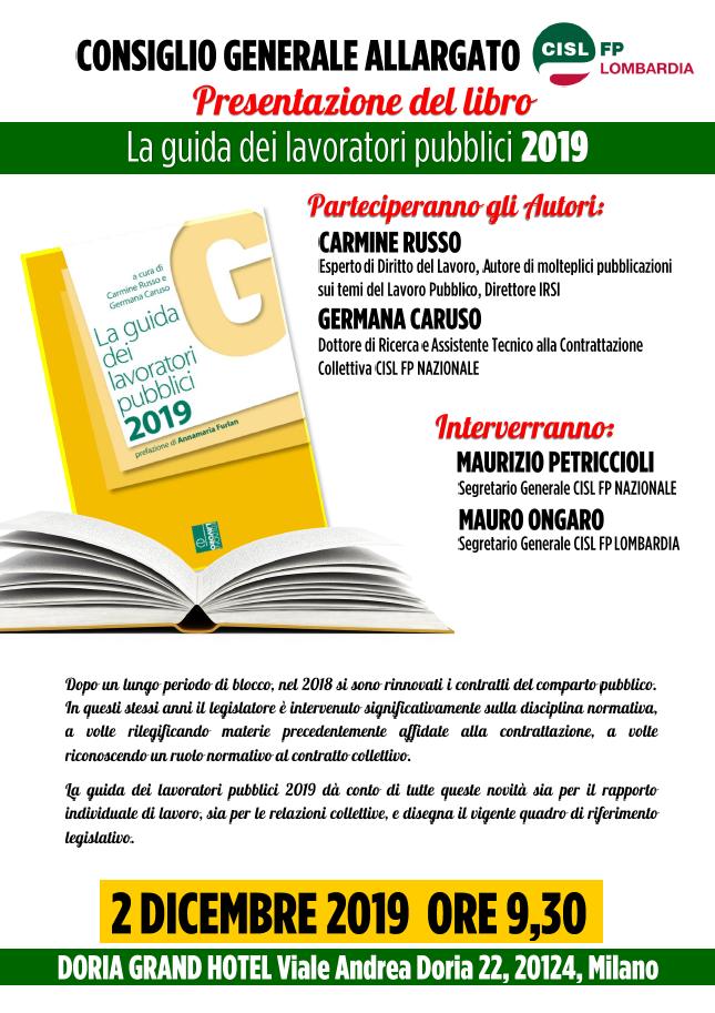 CG Allargato CISL FP Lombardia