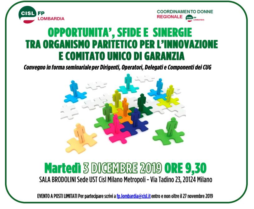 convegno coordinamento donne CISL FP Lombardia 031219